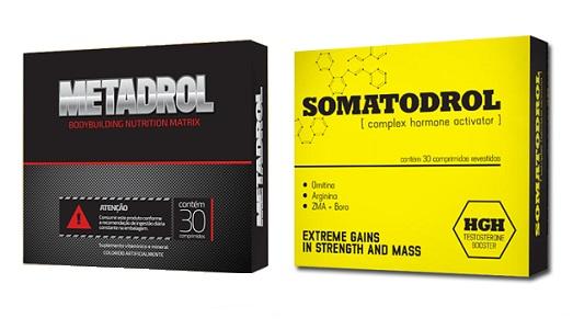 METADROL ou SOMATODROL: Qual o Melhor Estimulador de Testosterona Natural?